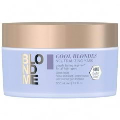Masque neutralisant blonds froids BlondMe