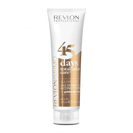 Shampoing 2en1 Golden blondes 45days Revlonissimo