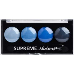 Palette d'ombres à paupières bleues Supreme Make-up