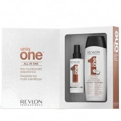 Coffret duo Spray et Shampoing Coconut Uniq one