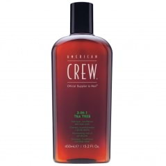 Shampoing conditionner et gel douche Tea Tree 3-en-1 American Crew